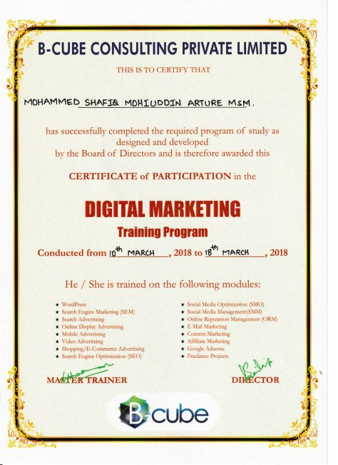 Digital Marketing, MdShafiqM, B-Cube,Cert.jpg
