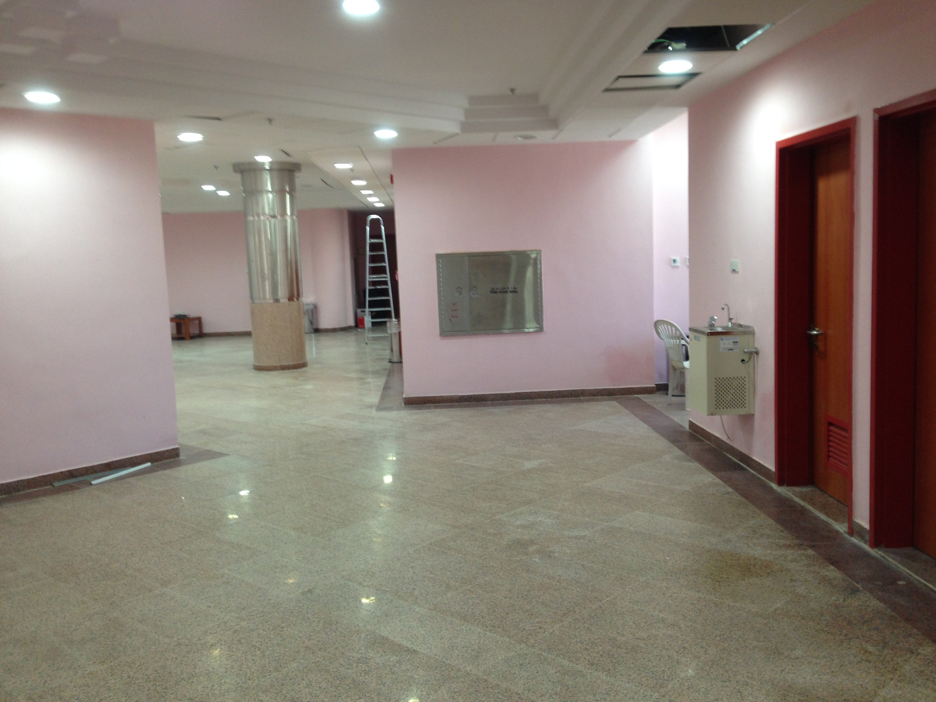 Interior View Upper Floors, Halls for  Male & Female.JPG