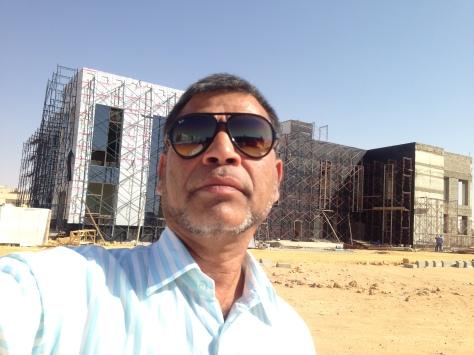 Site Works, Structured Glazing & Alcobond Cladding - DIALYSIS CENTRE - KAAH Medical City, Al Jouf Region, KSA
