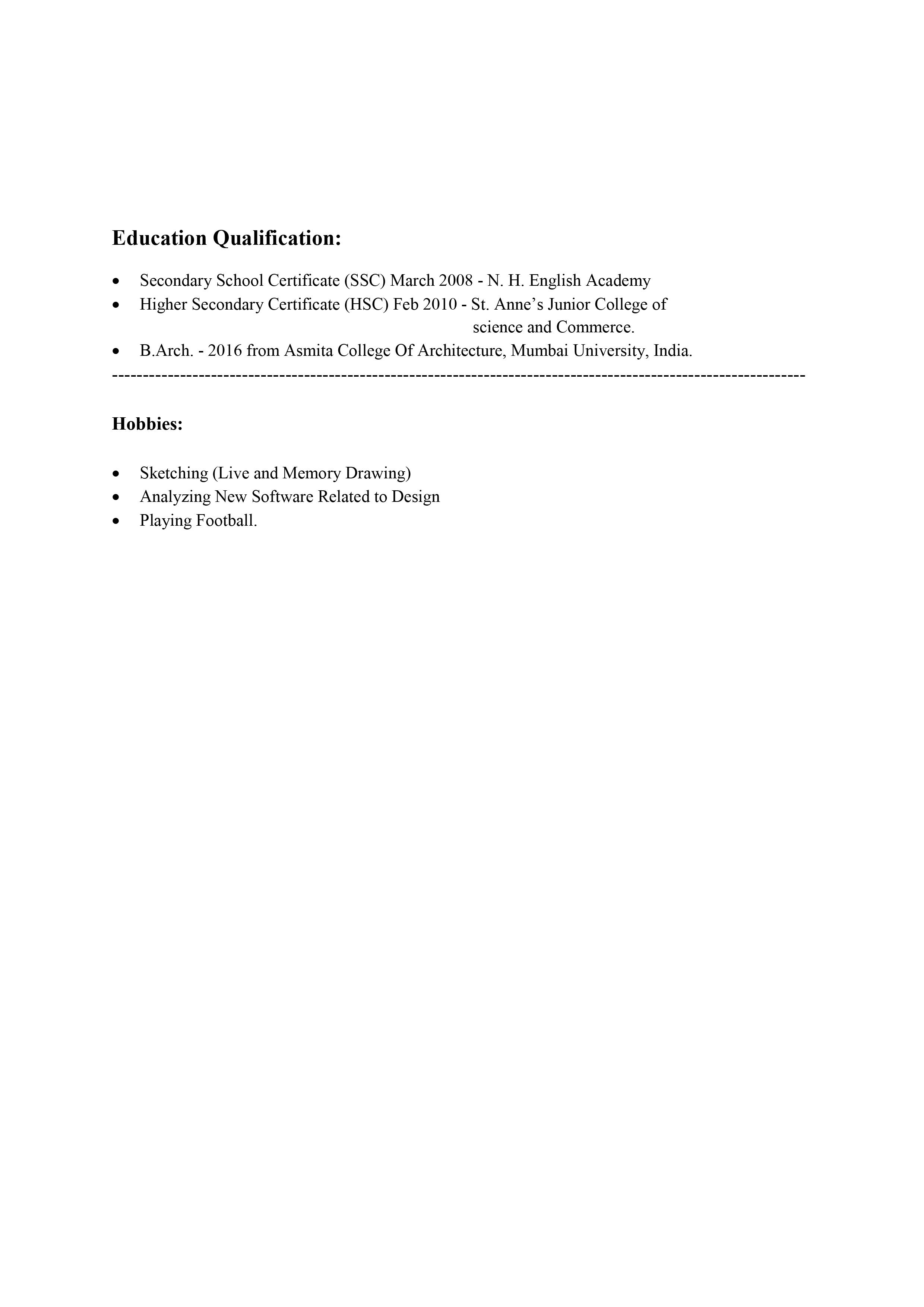 CV of Ar. Md. Ibrahim Mohiuddin pg 4